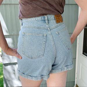 Vintage Mom Jean Shorts Lizwear Denim